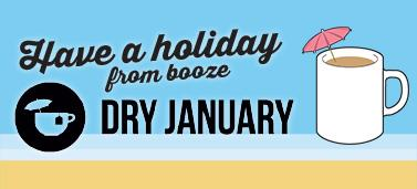 Dry January sign up