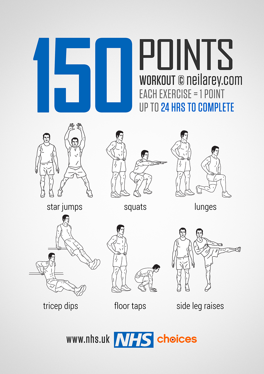 150 Points Workout