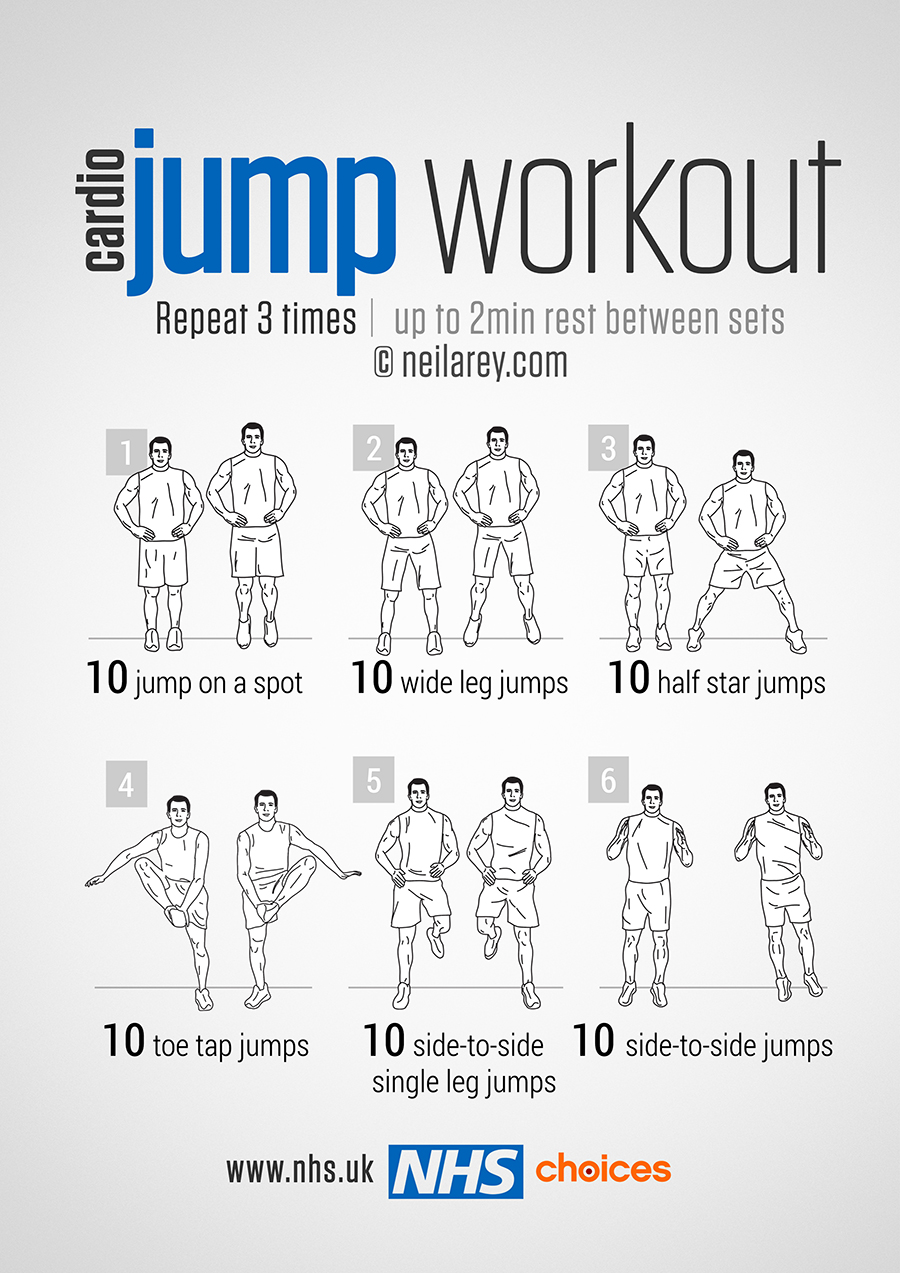 Gym-free workouts - NHS