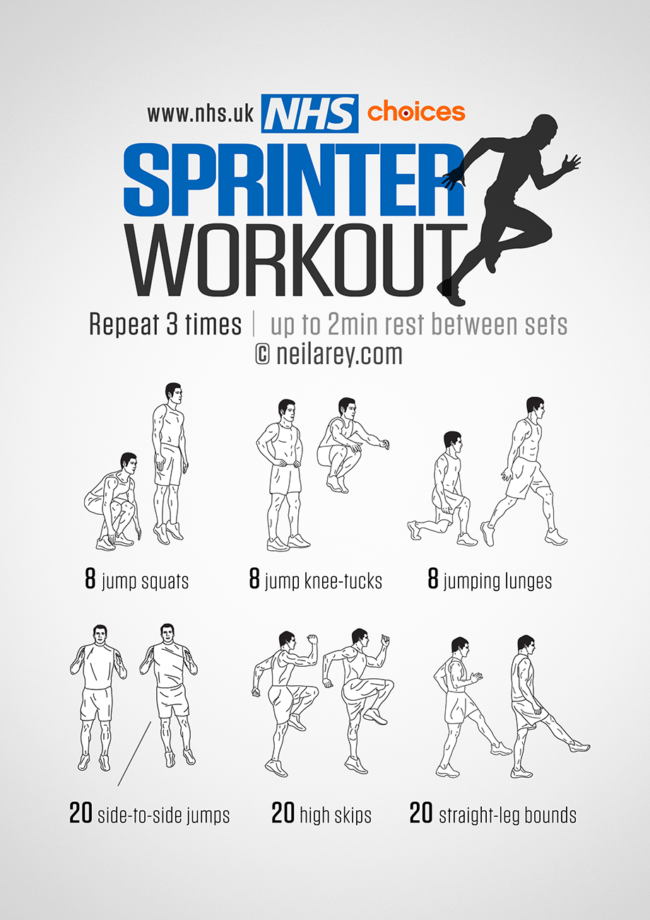 Work On Your Strength Power And Sd With This Sprinter Workout Energising Routine Is Designed To Strengthen Legs Ocks