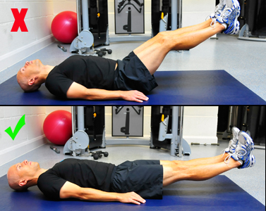This Strains The Back And Makes Move Much Less Effective As An Abdominal Exercise