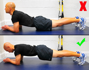 The Plank Is An Effective Exercise For Developing Your Core Strength Around  The Spine, But Bad Form Can Hurt Your Shoulders And Back.