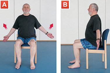Sitting exercises ymca your move chest stretch publicscrutiny Gallery