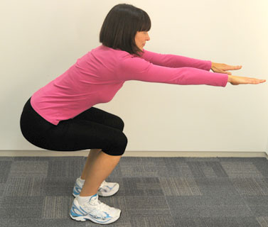 Squats Great For Firm S And Thighs