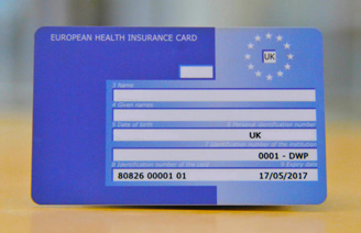 EHIC CARD NHS 328x212 - If UK votes to leave the EU...