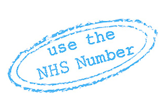 The NHS Number logo