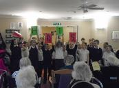 Christmas carols at Hillcroft House