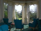 View from the Lounge over the gardens