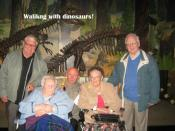 Residents enjoying a trip to the museum