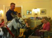 Visit from Sidmouth Donkey Sanctuary