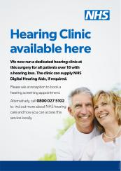 Hearing Clinic Availble Here