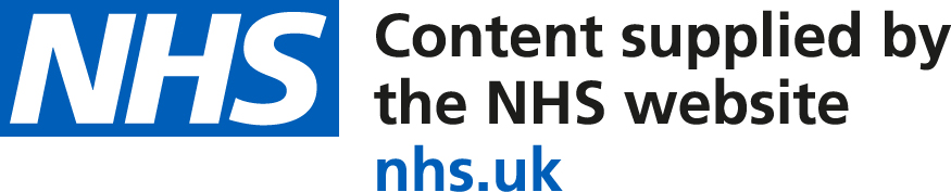 Content Supplied by the NHS