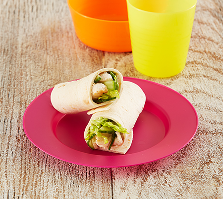 Zesty Chicken Wrap Weaning Recipes Meal Ideas Start4life